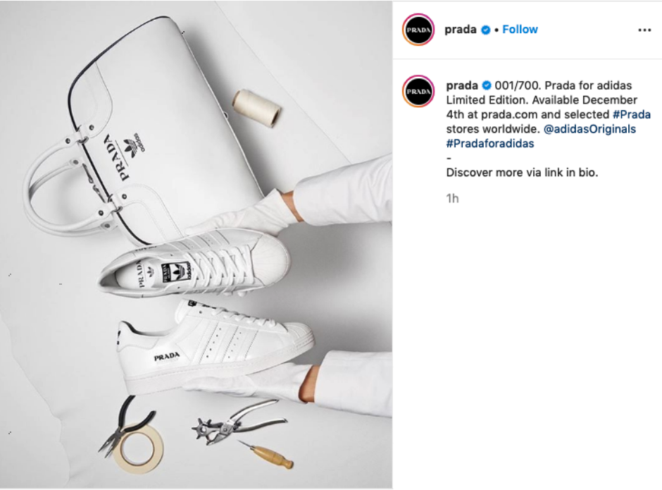 Prada for Adidas Limited Edition, svelate le prime immagini