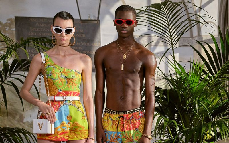 versace summer capsule collection