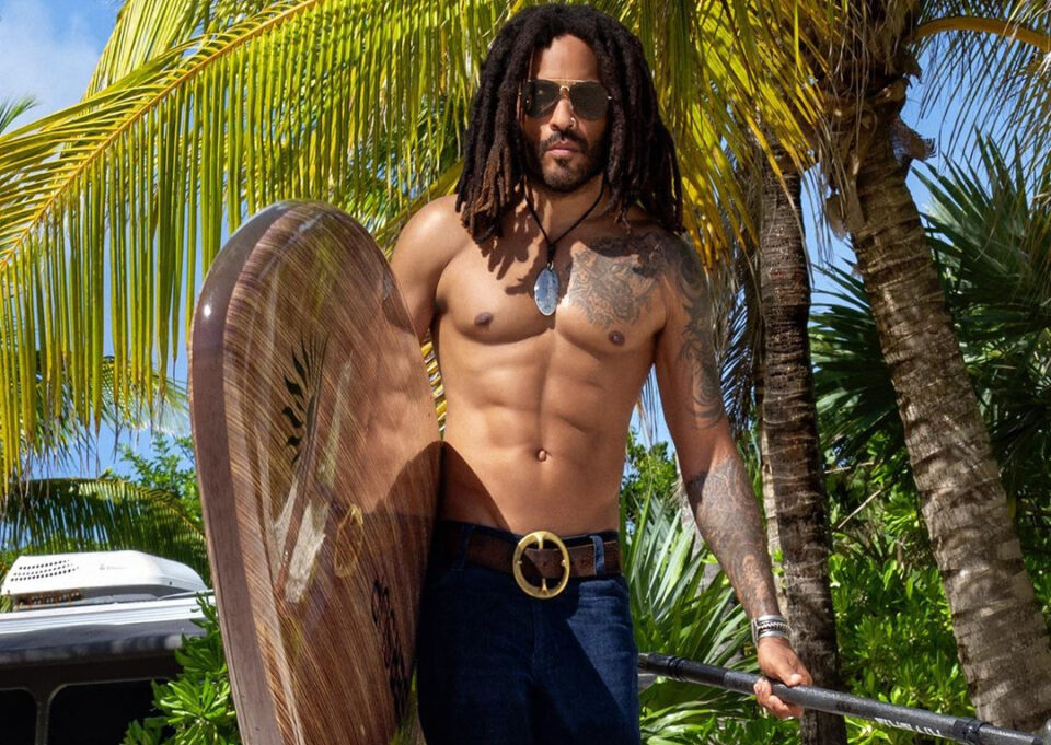 lenny Kravitz cover men's health