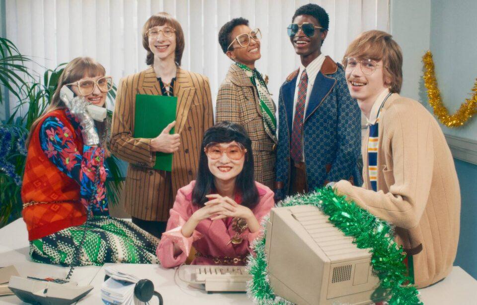 Gucci Gift 2020, la campagna natalizia vintage