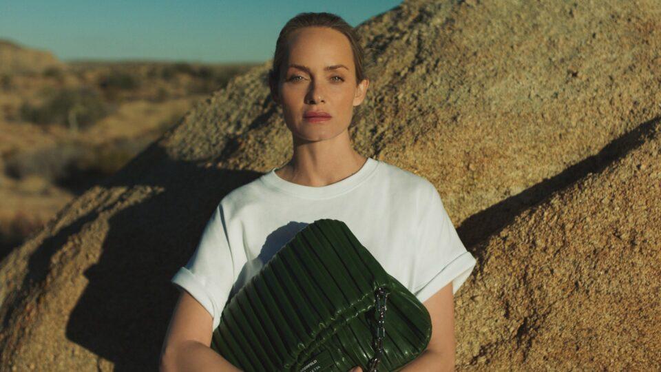 Amber Valletta, collezione green per Karl Lagerfeld